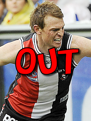 Goddard OUT!