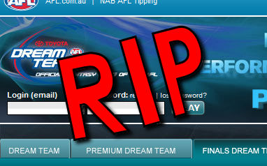 AFL Finals Dream Team: Not this Year