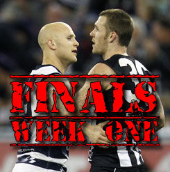 Finals Week One: Round Review