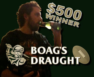 Boag's Draught Dream Team Group Winner