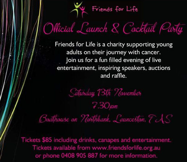 Friends for Life Launch Cocktail Party