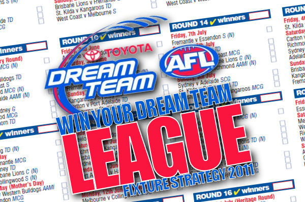 AFL Dream Team Strategy: How to win your league in 2011