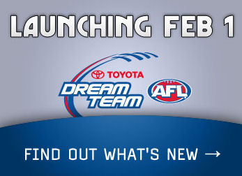 AFL Dream Team: Launching Feb 1