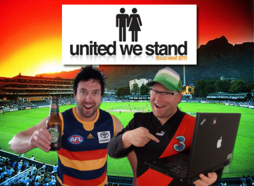 Support us in the United We Stand T20 Cricket on Australia Day