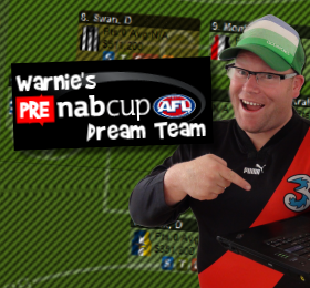 Warnie's Pre-NAB Cup AFL Dream Team