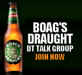 Join the Boag's Draught DT TALK Group