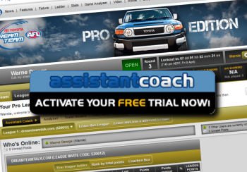 Get the Assistant Coach NOW!
