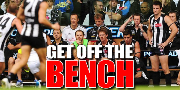Get Off The Bench: Rd 6 Early Edition