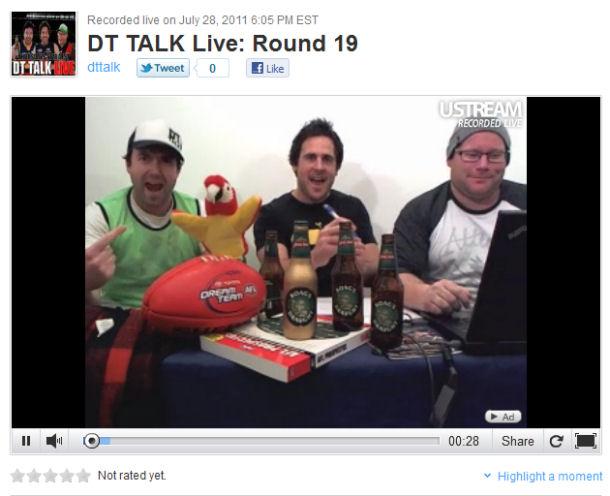 DT TALK Live: Round 19