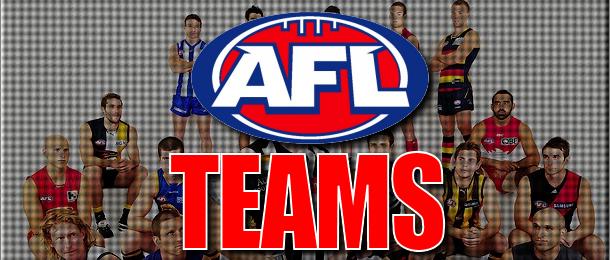 AFL Teams: Round 22