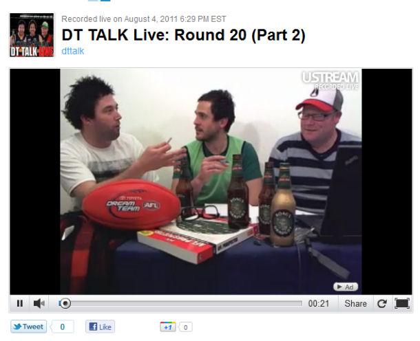 DT TALK Live: Round 20