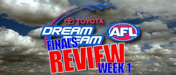 Round 21 AFL Dream Team Review