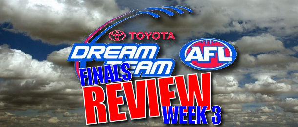Round 23 AFL Dream Team Review