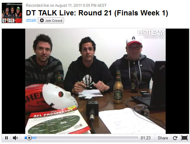 DT TALK Live: Round 21