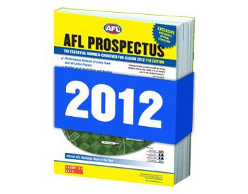 Pre-Order the AFL Prospectus 2012 NOW!