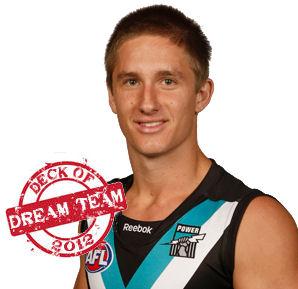 Deck of Dream Team 2012: Hamish Hartlett
