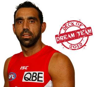 Deck of Dream Team 2012: Adam Goodes