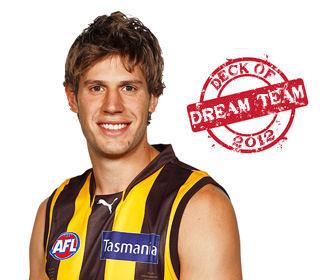 Deck of Dream Team 2012: Grant Birchall