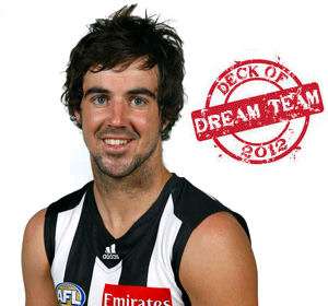Deck of Dream Team 2012: Steele Sidebottom