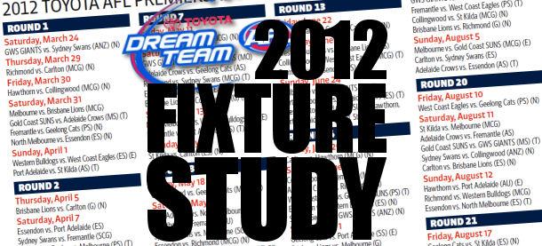 2012 Fixture Study