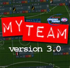 My Team 2012: Version 3.0