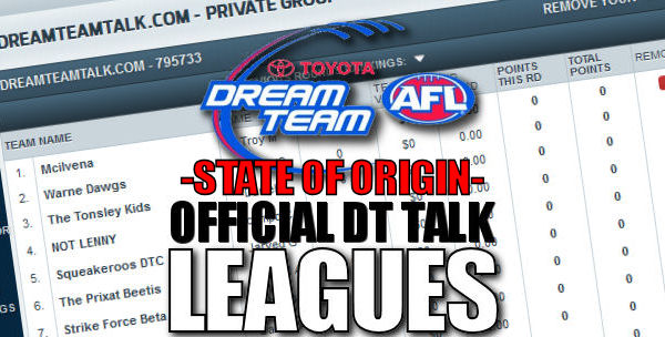 DT TALK 2012 Leagues: State of Origin