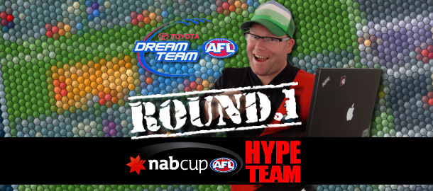 Warnie's NAB Cup Hype Dream Team 2012: Round 1