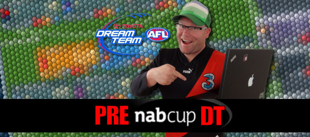 Warnie's Pre-NAB Cup AFL Dream Team 2012