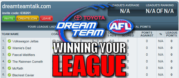 League win: Round 11 – Sacrifice Round