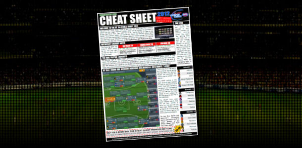 DT TALK Cheat Sheet 2012: First Lockout Edition