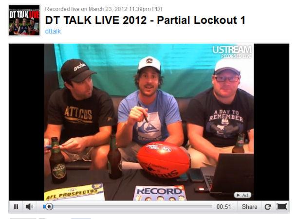 DT TALK Live 2012: Partial Lockout 1