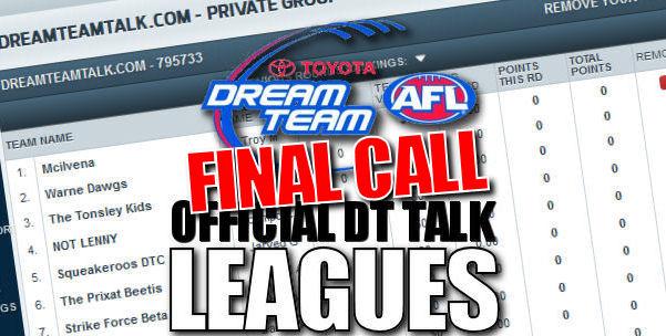 Final DT TALK Leagues