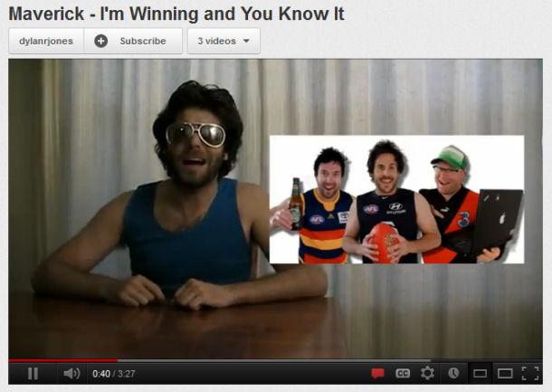 Maverick – I'm Winning and You Know It