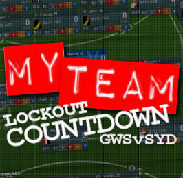 My Team 2012: GWSvSYD Lockout Countdown