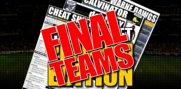 DT TALK Final Teams 2012