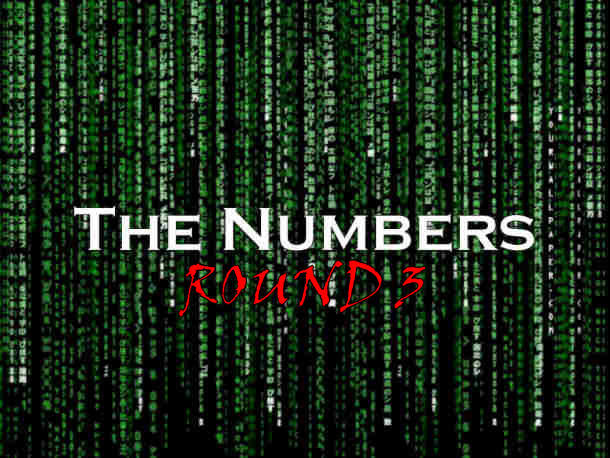 The Numbers – Round 3