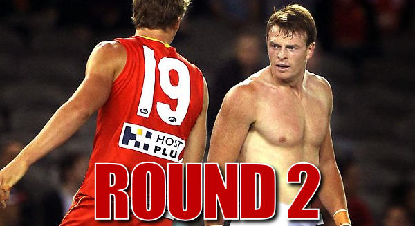 Shirts off: Round 2 Review