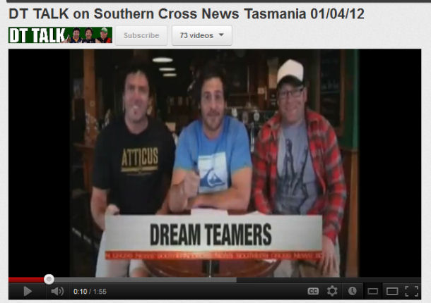 Feature on Southern Cross News in Tasmania