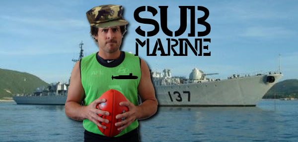 Green Vest With The Sub Marine
