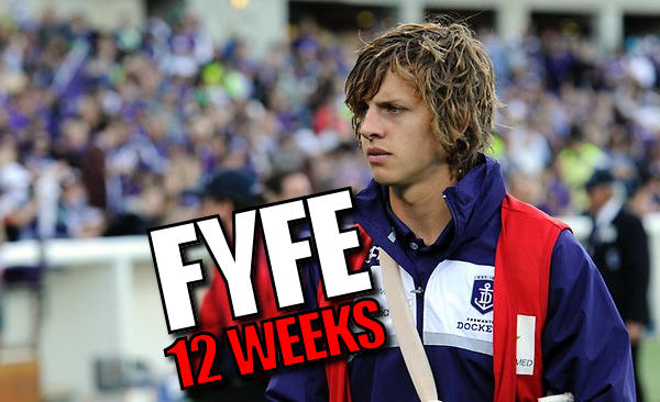 Nat Fyfe to have shoulder surgery