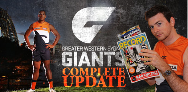 The GWS Giants Complete Update