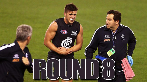 Blue Sunday: Round 8 Review