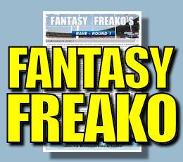 Fantasy Freako's Rave: Round 14