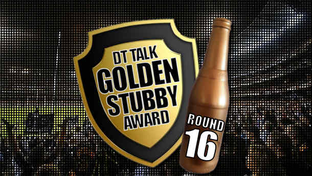 Golden Stubby – Round 16