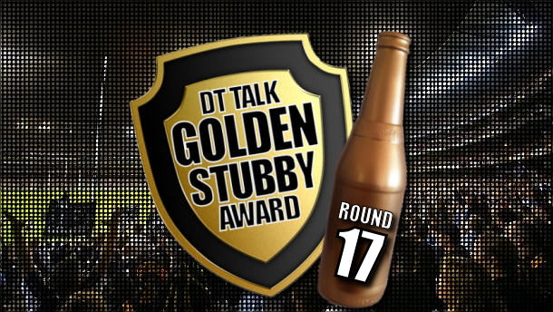 Golden Stubby – Round 17