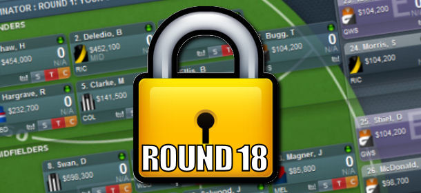 Lockout Chat: Round 18