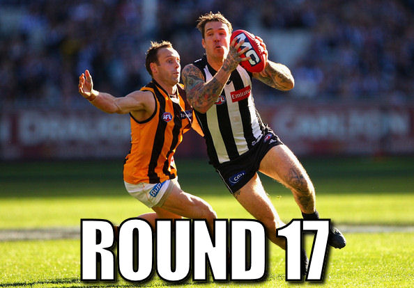Thanks Swanny: Round 17 Review