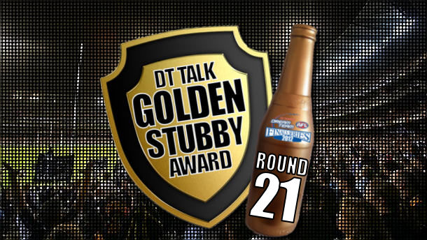 Golden Stubby – Round 21