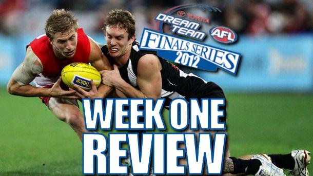 AFL Dream Team Finals Week 1 Review