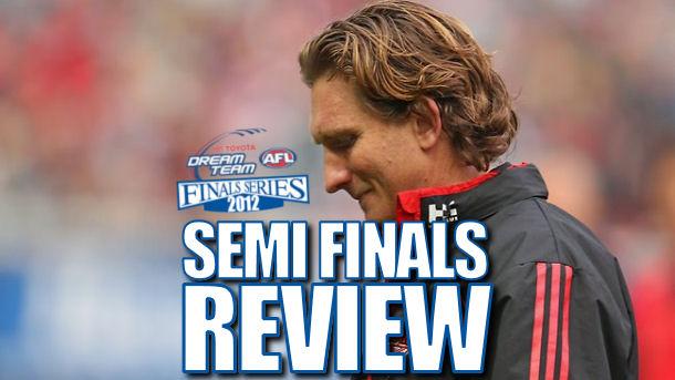 AFL Dream Team Semi Finals Review